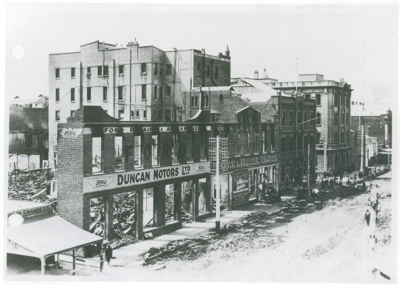 Franklin Street After the Fire